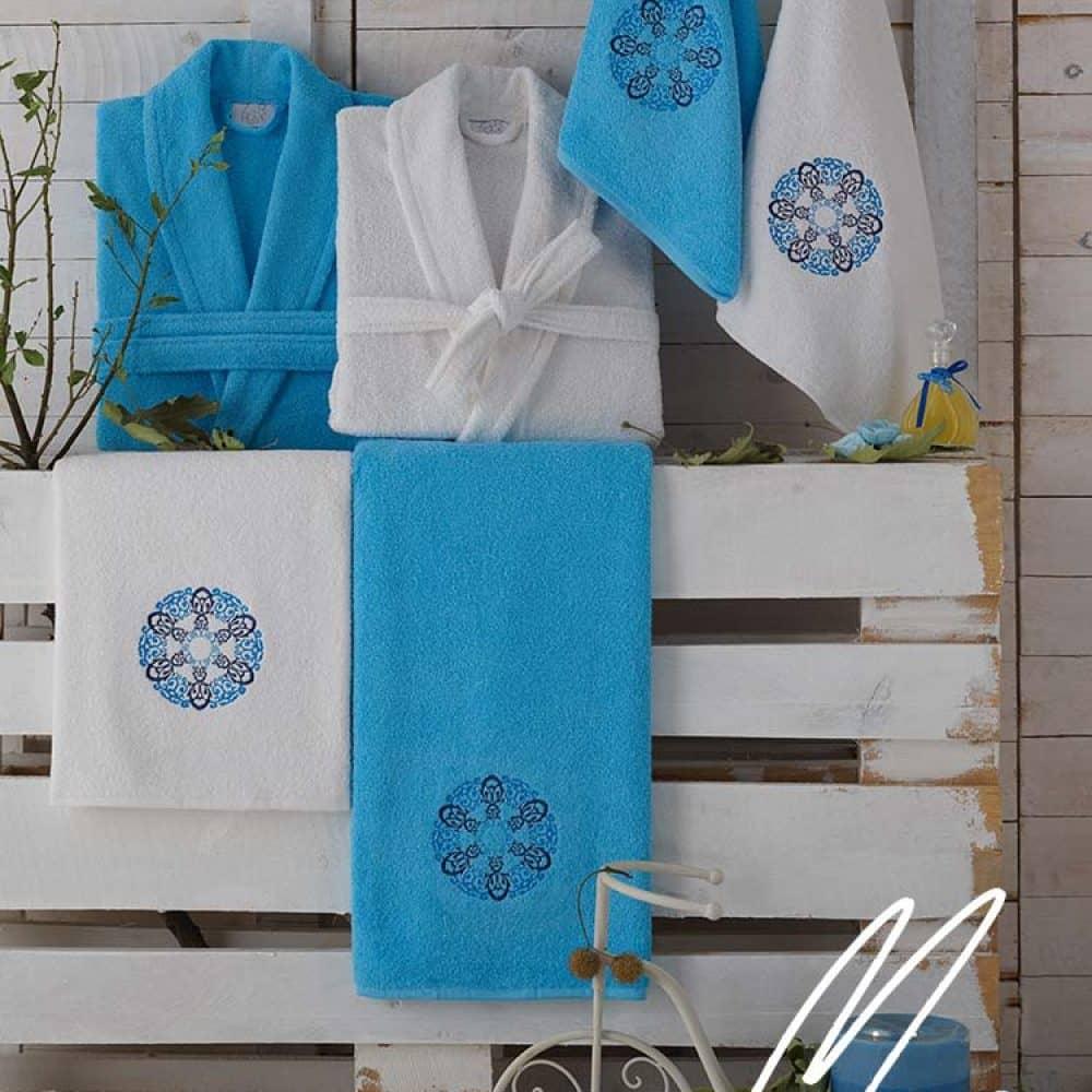 Махровые халаты и полотенца оптом из Турции